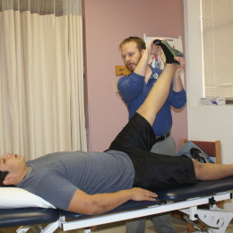 Walk-in physical therapy