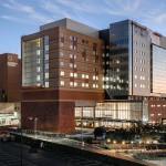 New tower at University Hospital