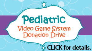 Video game system donation drive
