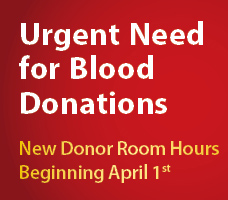 Urgent Need for Blood